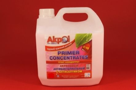Грунтовка концентрат  1,0л concentrates Akpol Primer